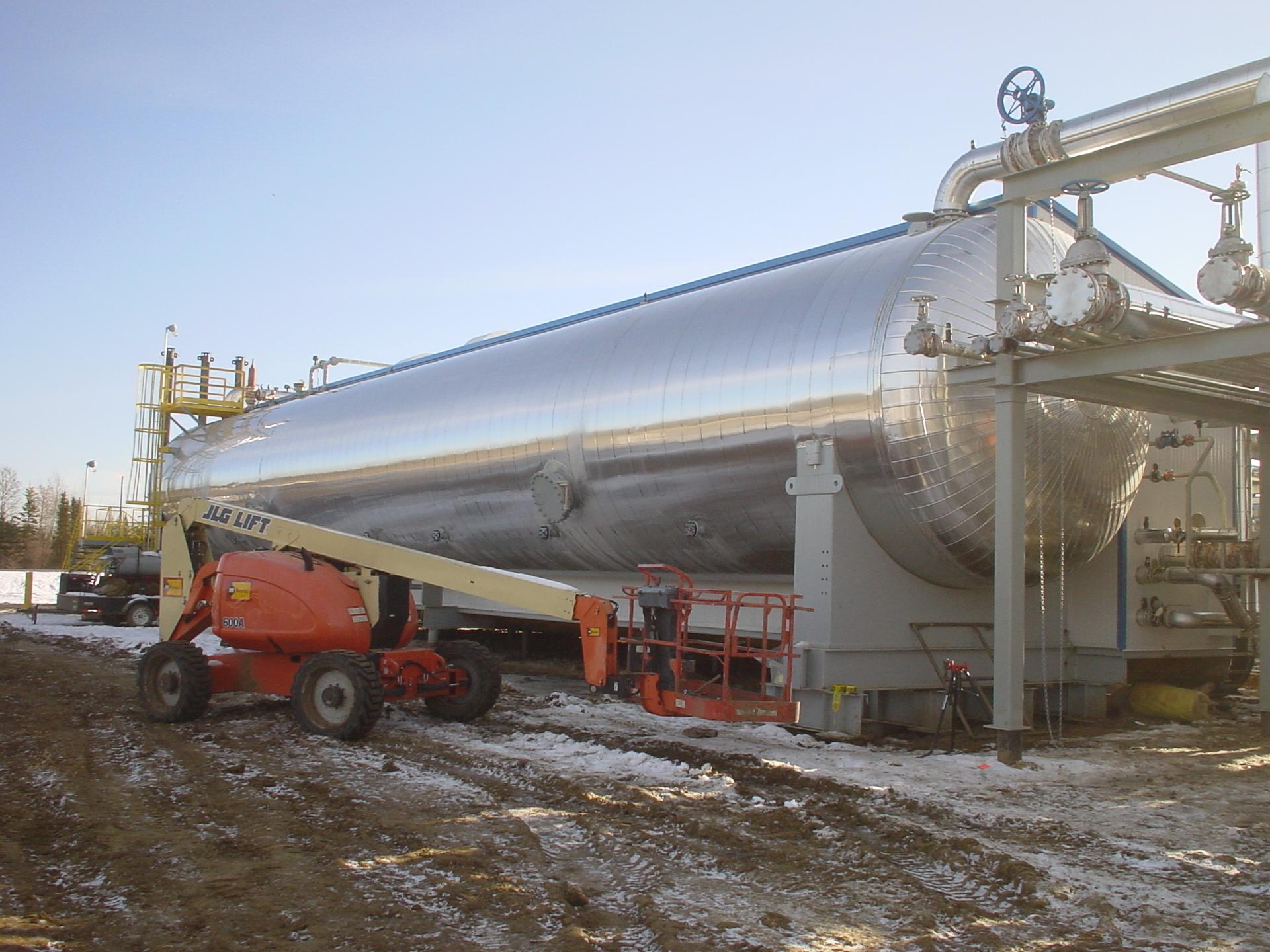 Equipment Insulation: Vessels