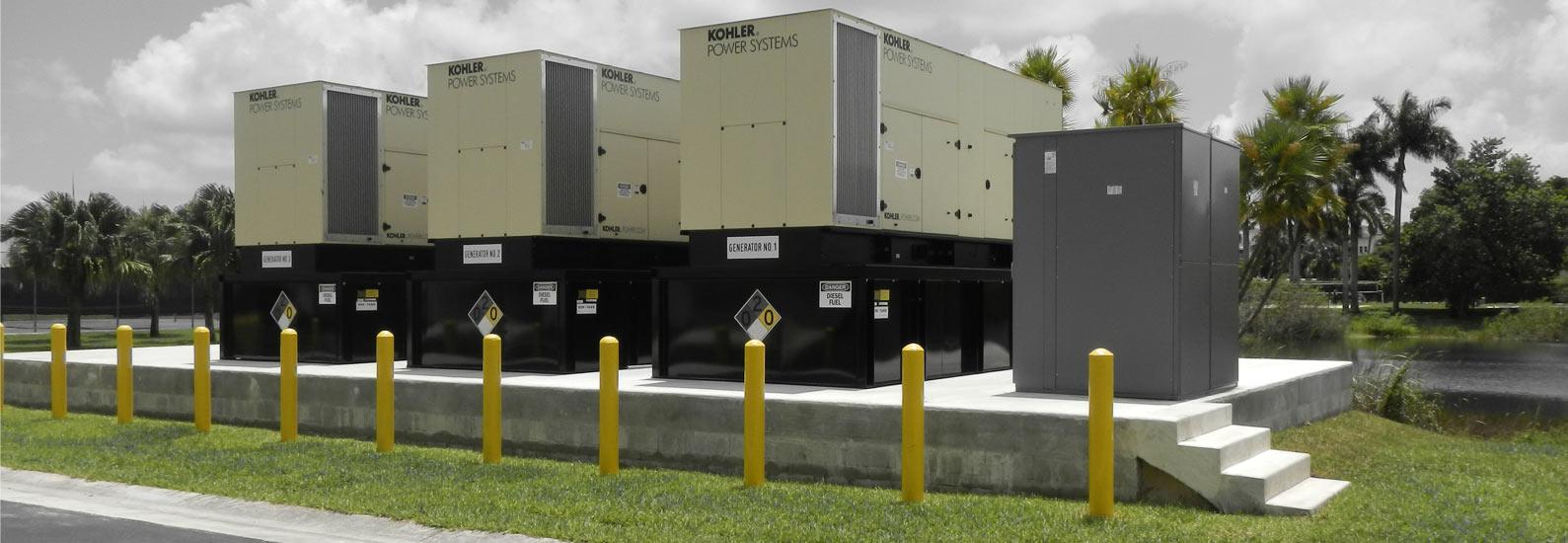 Kohler Power Systems Generator Install