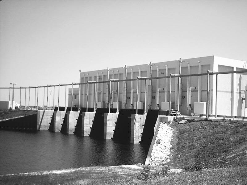Pump Station Gates Construction