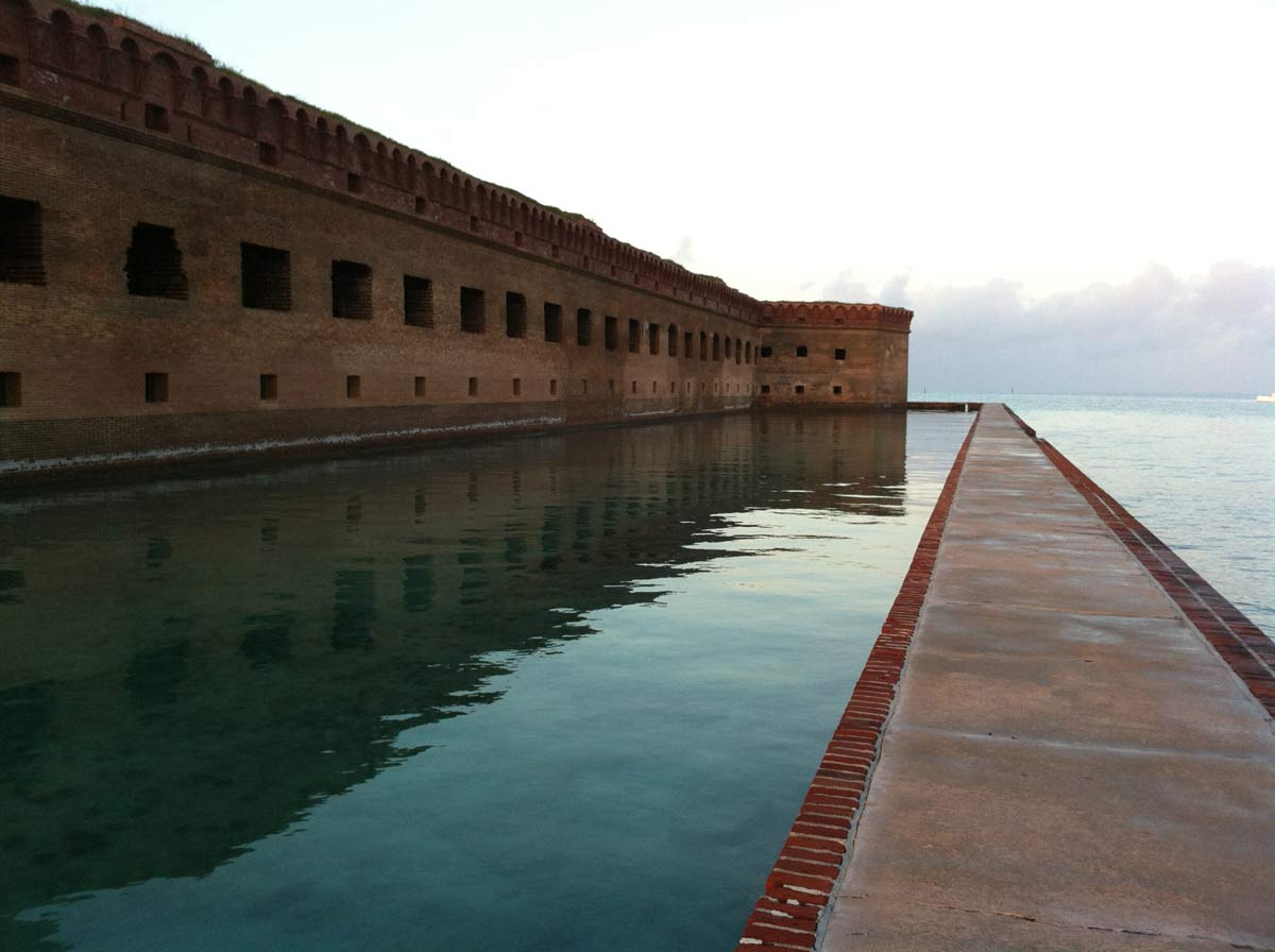 U.S. National Park Service Tortuga Fort Jefferson
