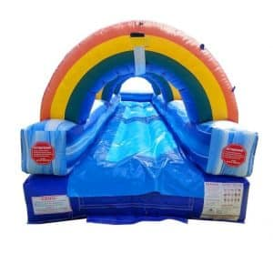 Slip and slide rental front view