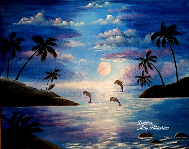 Painting July 18,20,23,25,27