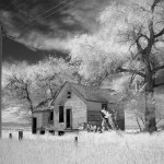 "Print B&W First Place, Gail Dohrmann, ""Abandoned House"""