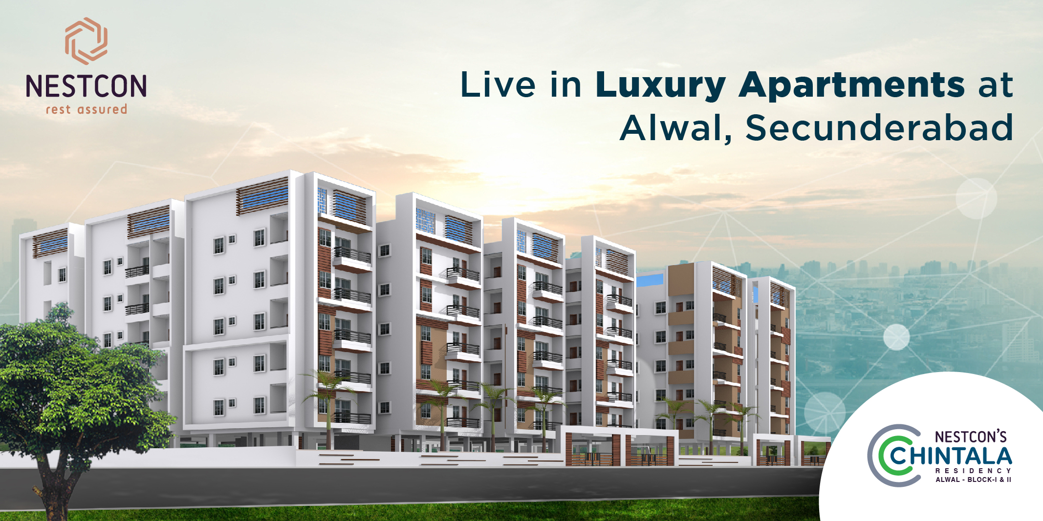 2 bhk & 3 bhk luxury apartments in alwal