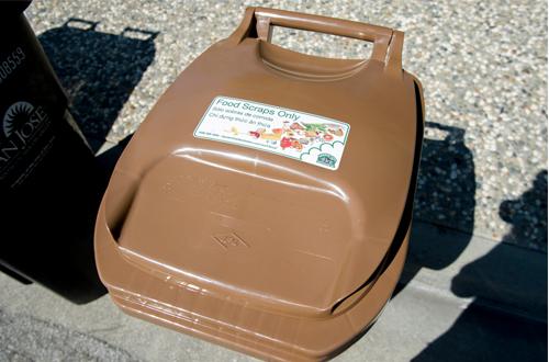 Food Scraps 20 Gallon Cart Lid