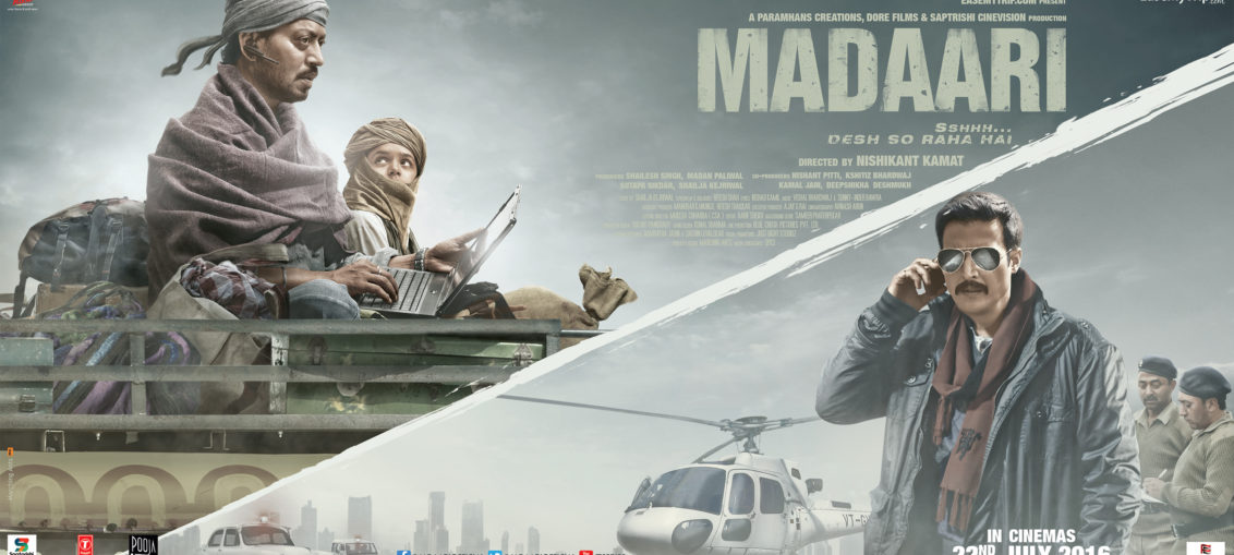 Madaari: A testament of Irrfan's Talent (Full Movie Review, no spoilers)