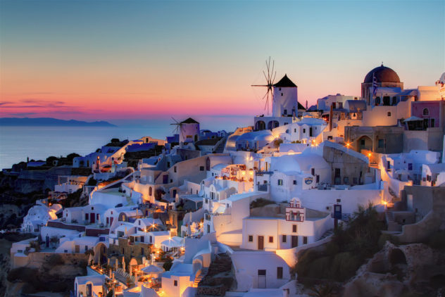 5 Places in my Travel bucket santorini