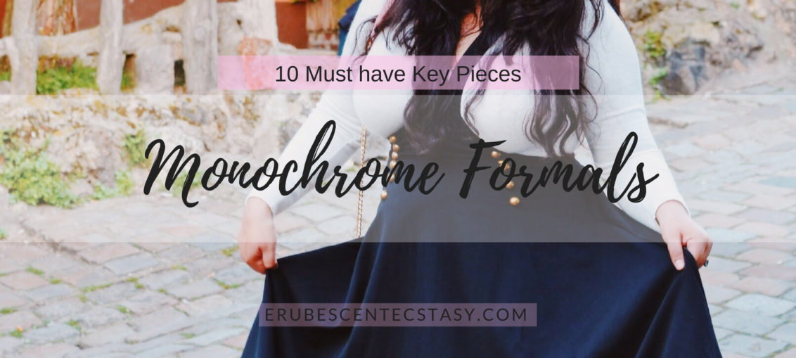 10 Must have Key Pieces: Monochrome Formals