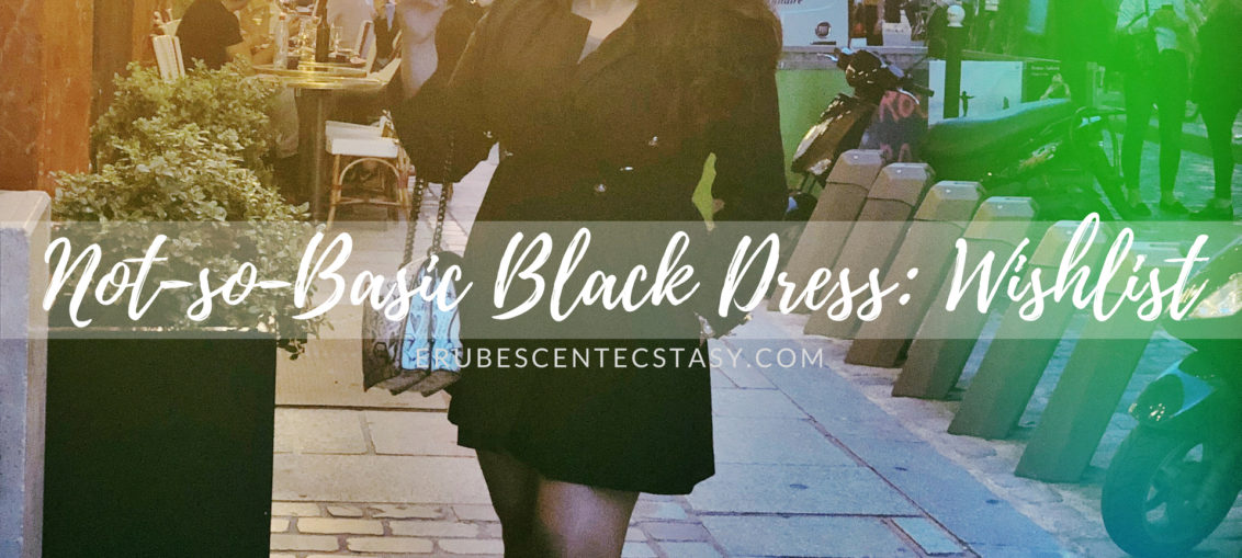 7 'Not-so-Basic Black Dress'- Wishlist