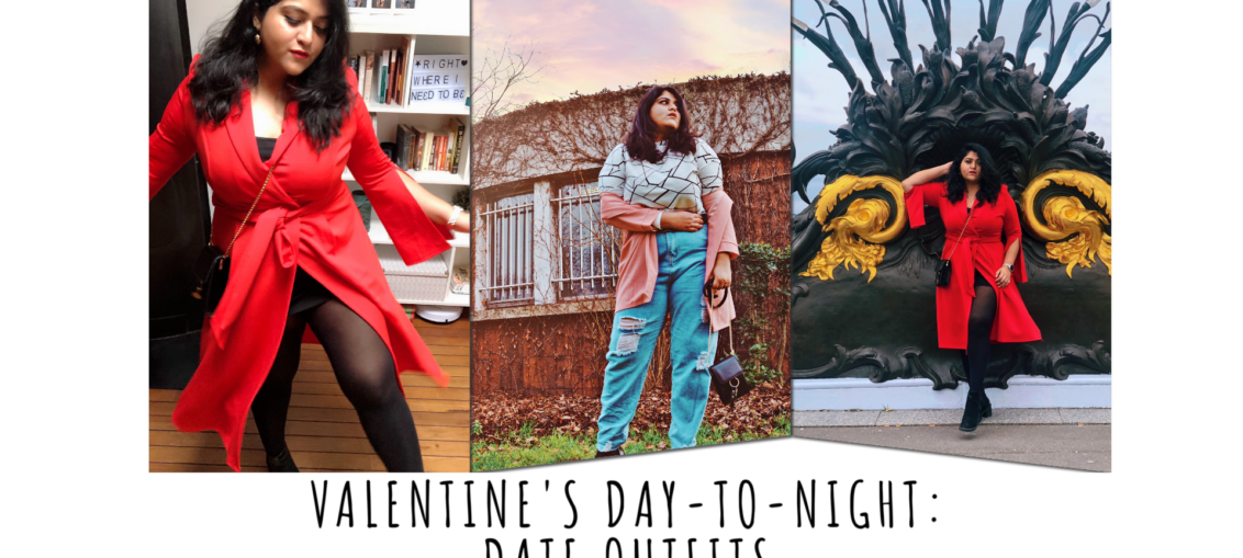Valentine's day-to-night: date outfits