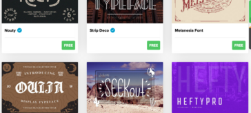 Top 10 sites for free fonts for DIY lovers