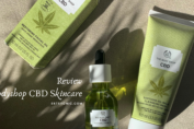 Review: Bodyshop CBD skincare: CBD Cleanser Mask & CBD Facial oil
