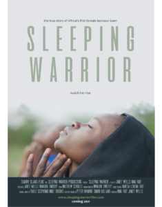 Sleeping Warrior Poster