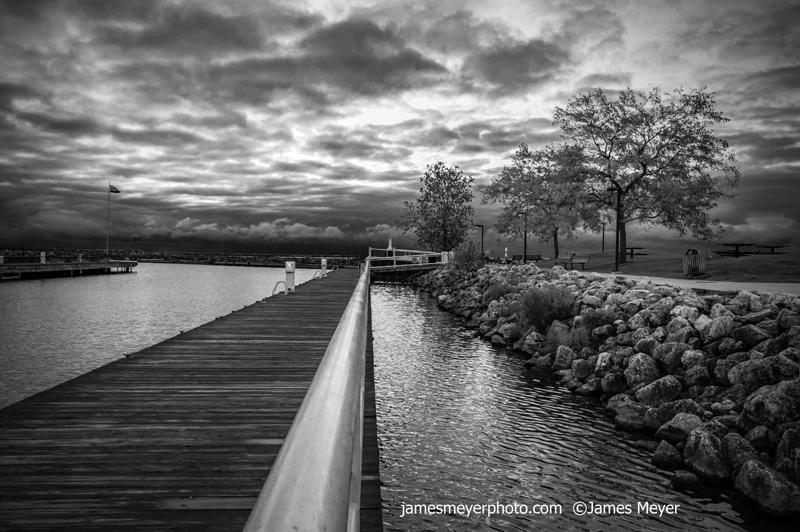 Boardwalk in Port Washington WI