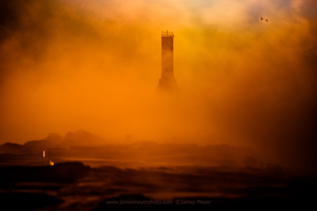 Awesome lighthouse photo from James Meyer in Port Washington WI