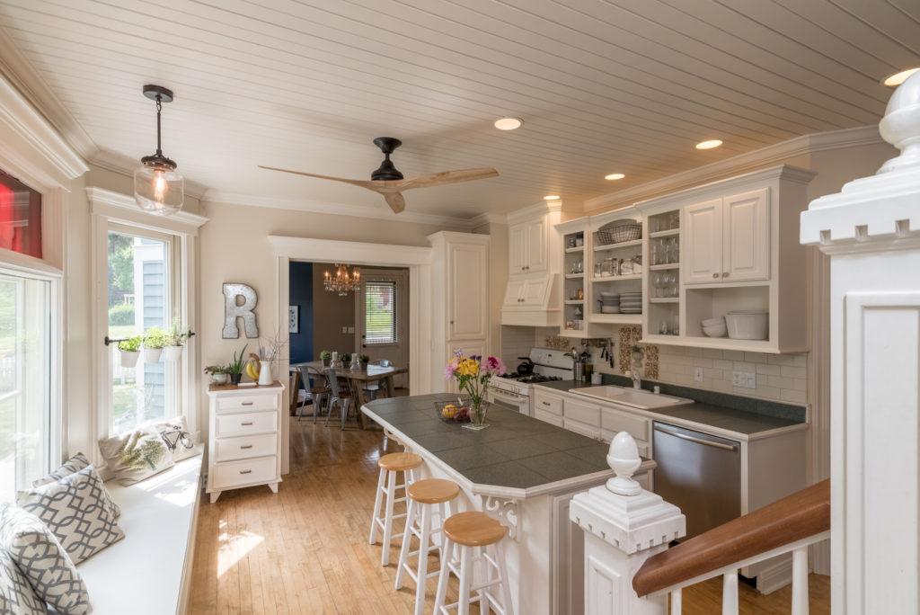 Port Washington WI victorian kitchen by James Meyer Photography