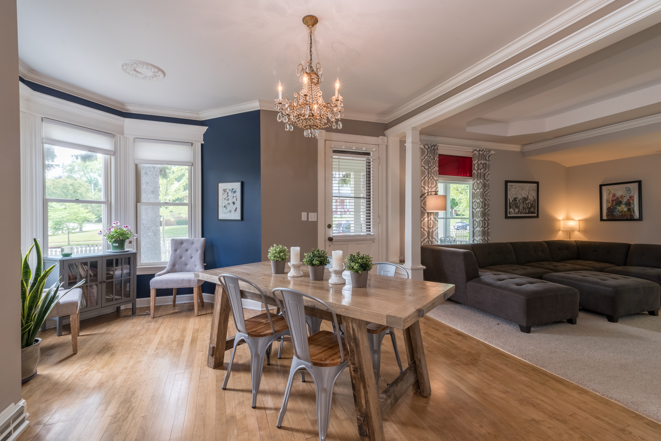 Port Washington WI victorian dining room by James Meyer Photography