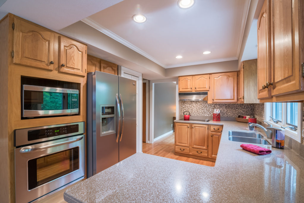 Kitchen photographed for Realtor Andrea Kastner of Remax United in Port Washington WI