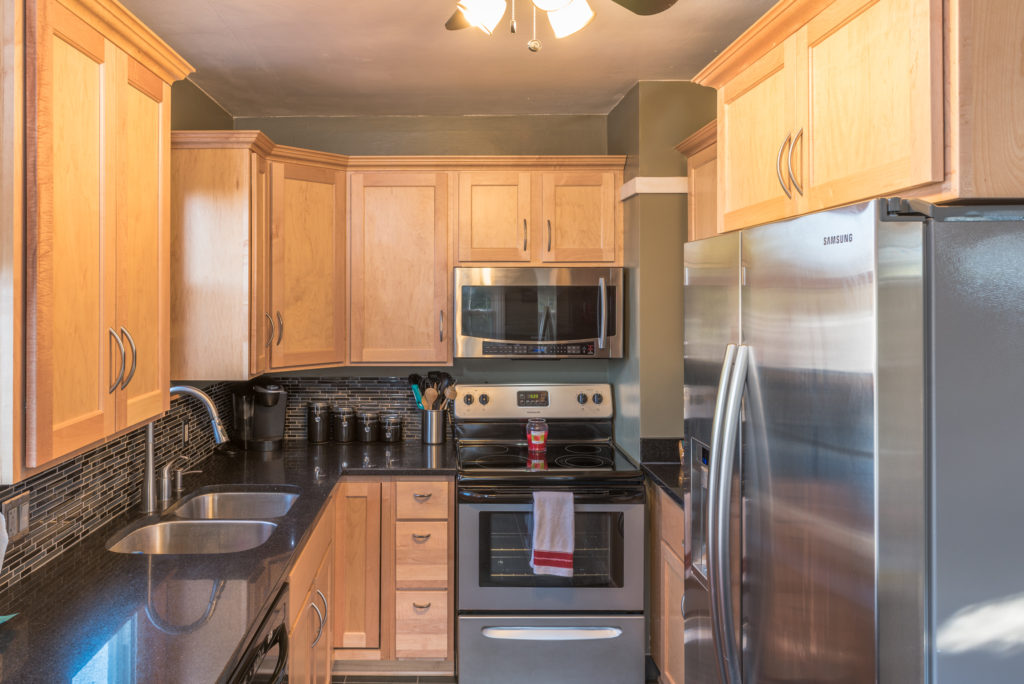 Kitchen photographed for Realtor Allana Gonzales of Remax Insight Hartford Wisconsin