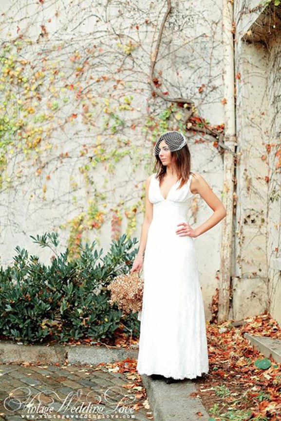 Robe KATE (Crédit photo: Vintage Wedding Love)
