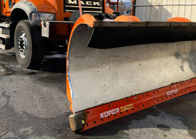 Flexible Carbide Snowplow Blades. Kueper TUCA