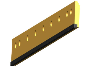 Dual Carbide Insert Style Blade