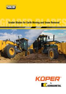 Kuper by Kennametal Grader Blades Catalog
