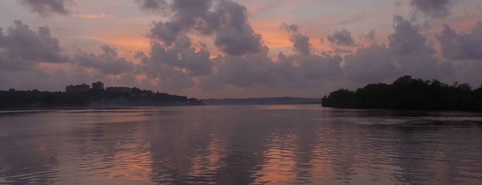 Divar Island Ferry Sunset