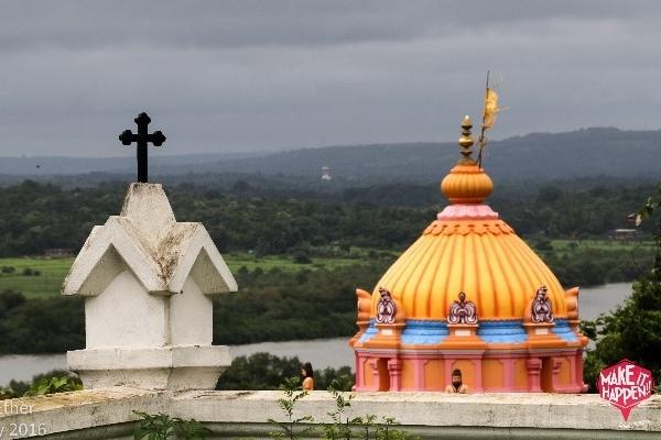 Divar Island Hill Top view
