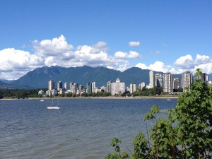 Kitsilano (Kits - my neighbourhood) Beach View to Downtown
