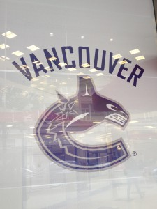 The 'Canucks' - local hockey team