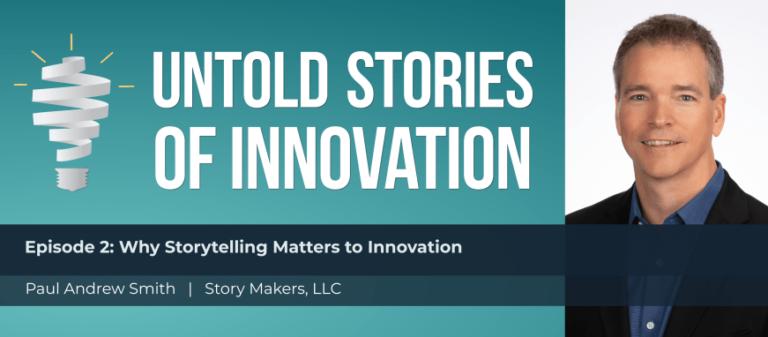 innovation storytelling paul andrew smith