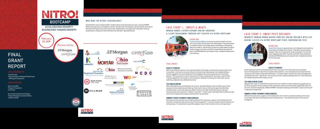 NITRO! Bootcamp marketing materials