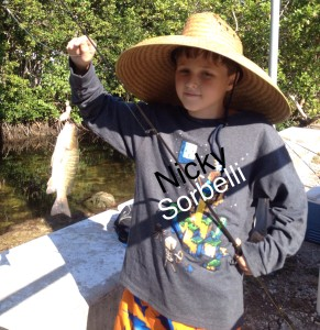 Nicky Sorbelli Fishing Key West