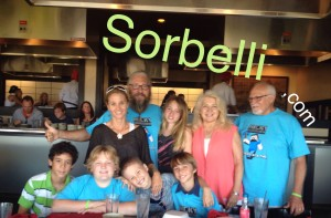 Nicky Sorbelli 10th BDay party in Key West with family & friends