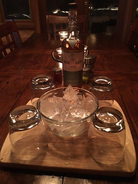 Scotch and Glacier Ice