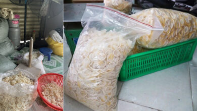 Photo of Police Seize 345,000 Used Condoms That Were Being Repackaged And Sold As New