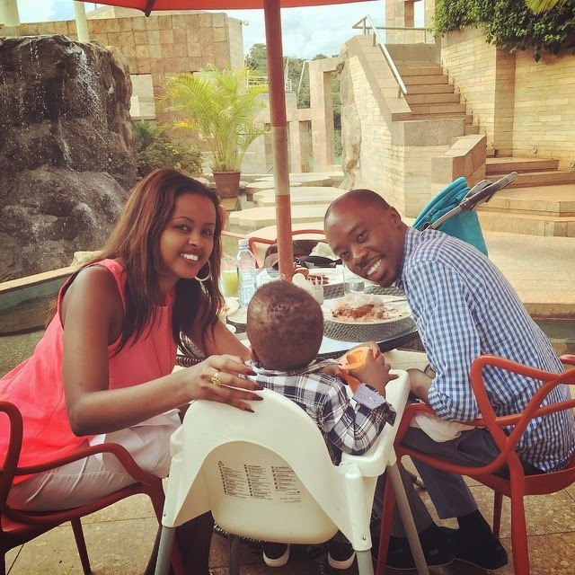 Amina Abdi and John Rabah