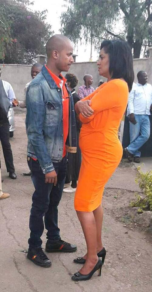 Photo of 10 Suggestive Chemistry Photos Between Babu Owino And Esther Passaris