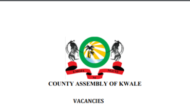 Photo of Kwale County Assembly Hiring In 18 Sections