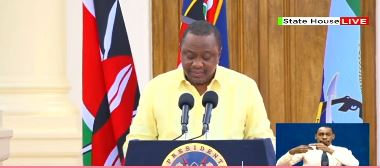 Photo of President Uhuru Announces More Tough Measures After 158 COVID-19 Tested Positive