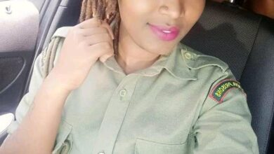 Photo of PICS – Meet Mary Wanunu 24 Year Prison Officer Giving Inmates Sleepless Nights