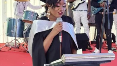 Photo of Cute Photos Of COTU Boss Francis Atwoli's Hot Daughter Maria Who Graduated As A Lawyer