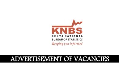 Photo of Kenya National Bureau of Statistics (KNBS) Hiring In 4 Units