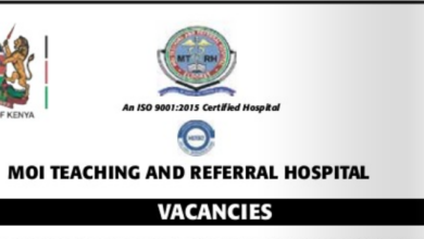 Photo of Vacancies Open At Moi Teaching and Referral Hospital