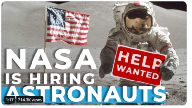 Photo of Astronauts Applications Open For NASA Moon Mission