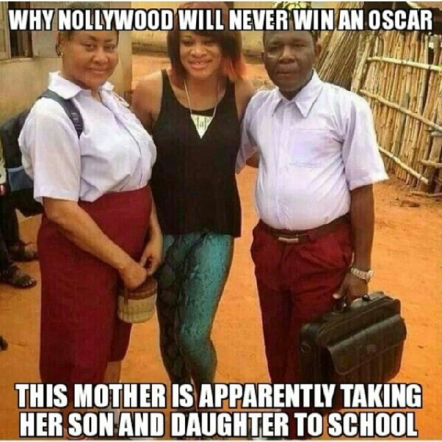 Nollywood-typical
