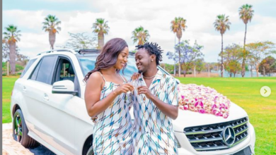 Photo of PICS – Bahati Gifts Diana Marua With New Mercedes On 5th Wedding Anniversary