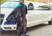Photo of Akothee Uncontainable During The Graduation Of Daughter Rue Baby
