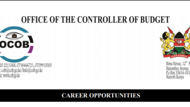 Photo of Vacancies Open In The Office of the Controller of Budget